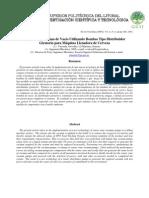 Selección de Sistema de vacío utilizando bombas tipo distribuidor