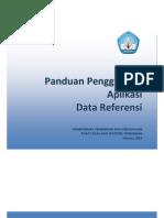 Manual Data Referensi PDSP Ver-1