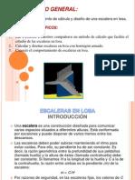 CÁLCULO Y DISEÑO DE ESCALERAS EN LOSA