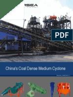 China's Coal Dense Medium Cyclone
