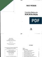 Max Weber - Conceitos básicos de sociologia