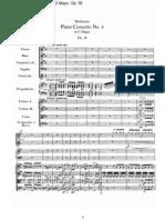 Beethoven, Ludwig Van - Piano Concerto No.4 in G Major, Op.58 (Full)