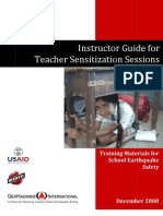 GHI Instructor Guide for Teacher Sensitization