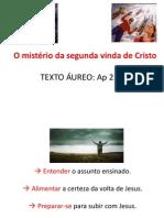 O mistério da segunda vinda de Cristo_segundo
