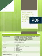 Roles en Un Proyecto de Desarrollo de Una Pagina Wap