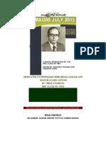 DMC CLASS OF 1985 DIGITAL MAGAZINE JULY 2013