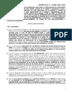 Contrato de Auditoria