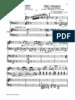 Schostakovich, Dmitri - Piano Concerto No.1, Op.35 (2pf)