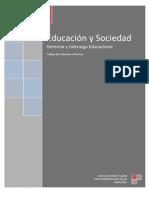 trabajo de educación y sociedad