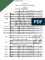Tchaikovsky Pyotr - Piano Concerto No.1, Op.23 (Full)