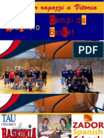 Campi da Basket per Ragazzi in Spagna - 2009