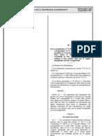 decret 07-308