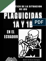 Diagnostico de La Situacion de Los Plaguicidas 1A y 1B en El Ecuador