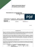 Planeacion de Mercadotecnia II