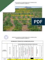 BOLETÍN AGROMETEOROLÓGICO Decenal Nro. 456 - Para la ecoregión del Altiplano- 3ra decenal de Junio del 2013