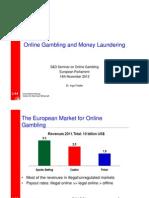 Money Laundering and Online Gambling seminar