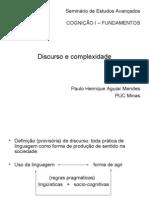 Cognição I - PAULO HENRIQUE - Complexidade e Discurso
