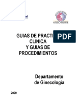 Guias Ginecologia 2009 Res