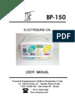 Manual do Usuário BP-150 (ESU-150W) ingles