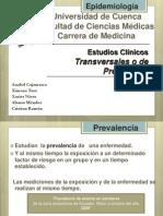 Epidemiología Estudios Transversales o de Prevalencia.