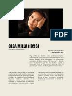 Olga Milla Cronica Viva