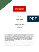 case analysis- first draft team 5