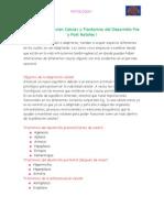 Adaptación Celular y Trastornos del Desarrollo Pre y Post Natales I