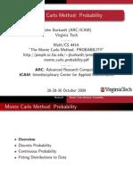 Monte Carlo Probability