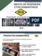 PRESENTACION BROCAS Y NUEVOS PRODUCTOS DIAMANTINOS 2010 - DCT - Español