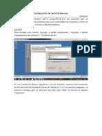 Configuracion de Terminal Services