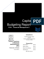 Capital Budgeting Report - Just For You Ltd.pdf