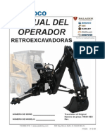 75634-XES Backhoe Spanish