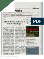 Almeyra La Jornada_ El Estado de arriba y el Estado de abajo.pdf