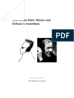 War on the State Stirner and Deleuze's Anarchism Saul Newman