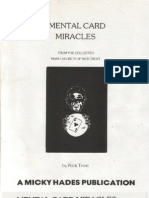 Nick Trost - Mental Card Miracles