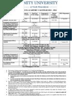 6f31fblock Academic Calendar Academic Session 2013 - 2014