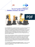 Brochure Robot m5 Edu Hl