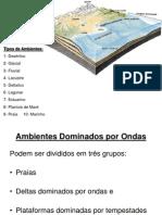Aula 10 - Ambientes de Sedimentação - parte 2