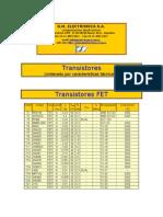 Catalogo de Transitores Originales