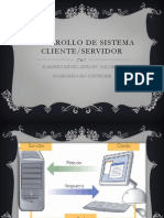 Desarrollo de Sistema Cliente