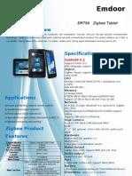 EM79A Zigbee Tablet
