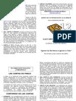 Folleto 12 - Las Cartas de San Pablo