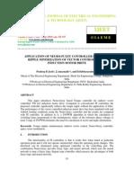 Application of Neuro-fuzzy Controller in Torque Ripple Minimization of Vec