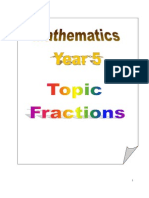 Topic 2 - Fraction