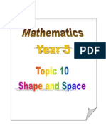 Topic 9 - Shape and Space