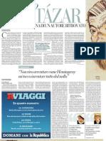 Esce l'epistolario di Julio Cortázar, di Giorgio Vasta - la Repubblica 02.07.2013