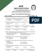 Appsc 2012 General Studies Mental Ability Paper 1 Final June13