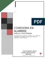 Cosedora en Alambre