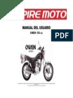 Keeway Owen 150 Manual de Despiece