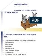 Qualitative Data Slides
